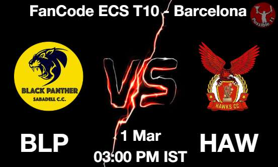 BLP vs HAW Dream11 Prediction