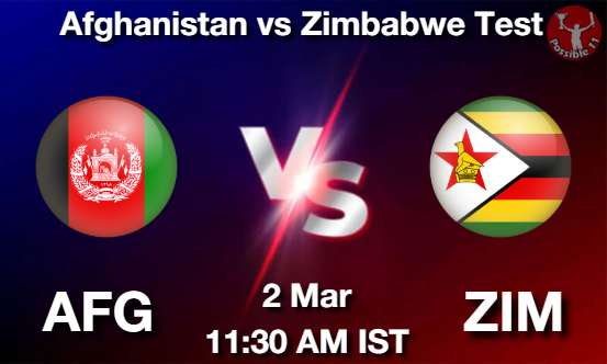 AFG vs ZIM Dream11 Prediction