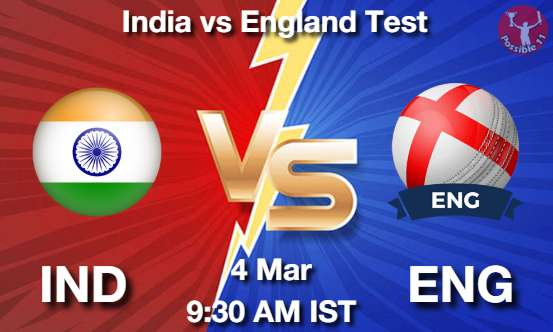 IND vs ENG Dream11 Prediction
