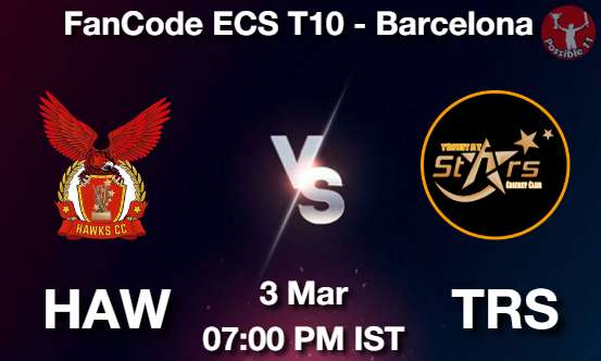 HAW vs TRS Cricket Match Previews