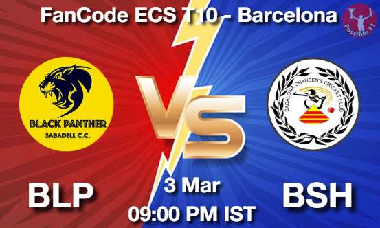 BLP vs BSH Cricket Match Previews