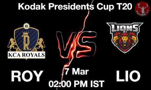 ROY vs LIO Dream11 Prediction
