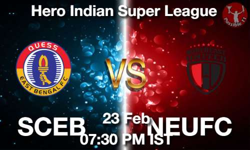SCEB vs NEUFC Dream11 Prediction