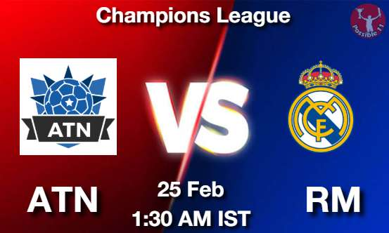 ATN vs RM Dream11 Prediction