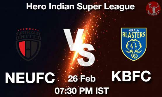 NEUFC vs KBFC Dream11 Prediction