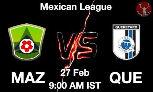 MAZ vs QUE Dream11 Prediction