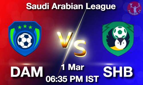 DAM vs SHB Dream11 Prediction