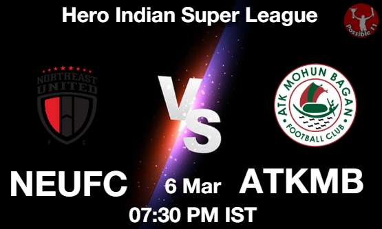 NEUFC vs ATKMB Dream11 Prediction