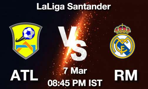 ATL vs RM Dream11 Prediction