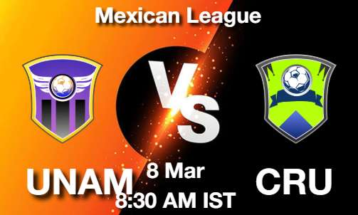 UNAM vs CRU Dream11 Prediction
