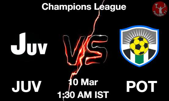 JUV vs POT Dream11 Prediction