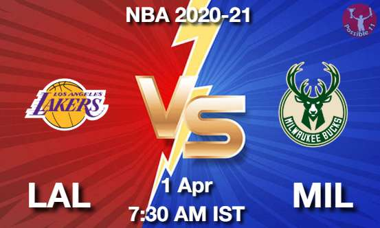 LAL vs MIL NBA Match Previews