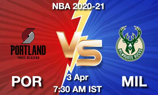 POR vs MIL NBA Match Previews