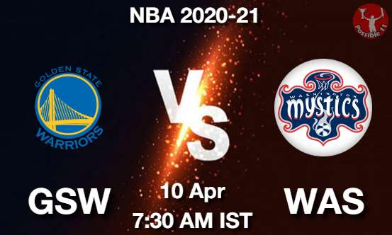 GSW vs WAS Dream11 Prediction