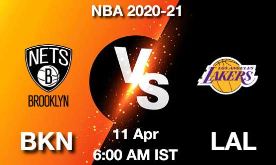 BKN vs LAL Dream11 Prediction