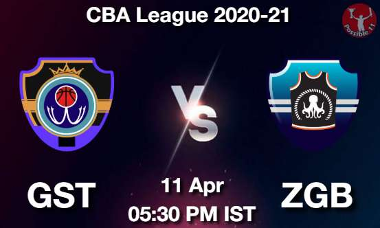 GST vs ZGB Dream11 Prediction