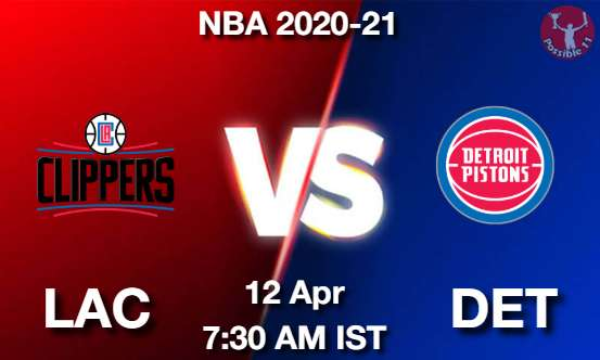 LAC vs DET Dream11 Prediction