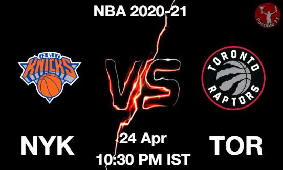 NYK vs TOR NBA Match Previews