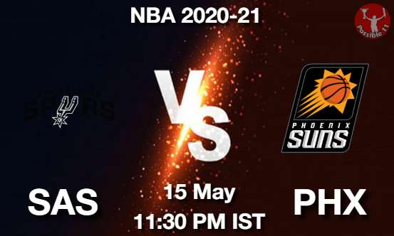 SAS vs PHX Dream11 Prediction