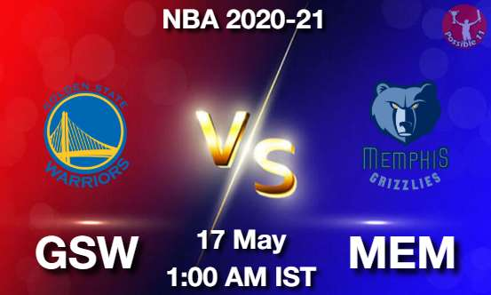 GSW vs MEM Dream11 Prediction