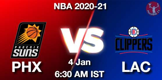 PHX vs LAC Dream11 Prediction