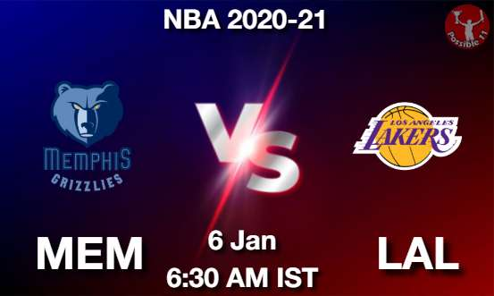 MEM vs LAL Dream11 Prediction