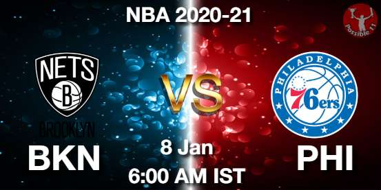 BKN vs PHI Dream11 Prediction
