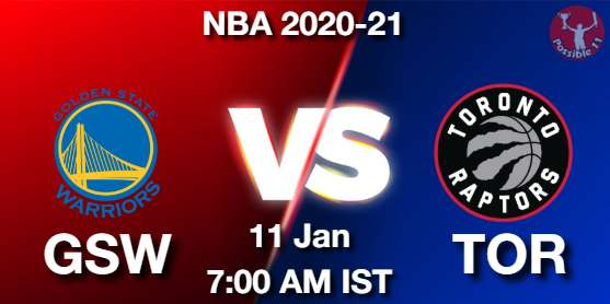 GSW vs TOR Dream11 Prediction