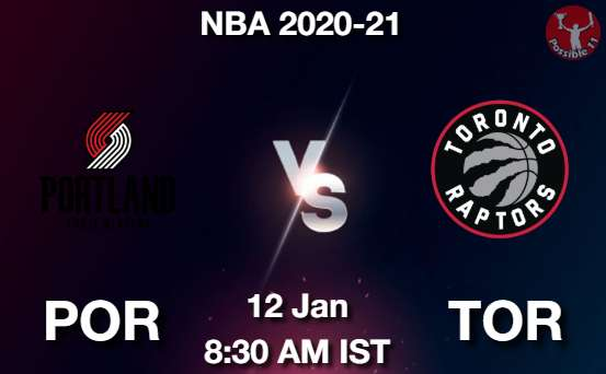 POR vs TOR Dream11 Prediction