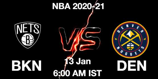 BKN vs DEN Dream11 Prediction