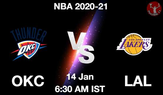 OKC vs LAL Dream11 Prediction