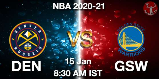 DEN vs GSW Dream11 Prediction