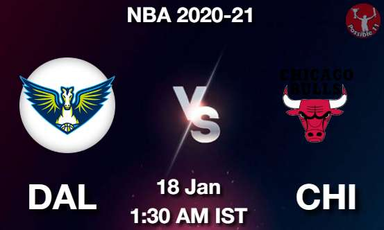 DAL vs CHI Dream11 Prediction