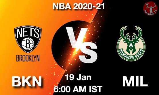 BKN vs MIL Dream11 Prediction