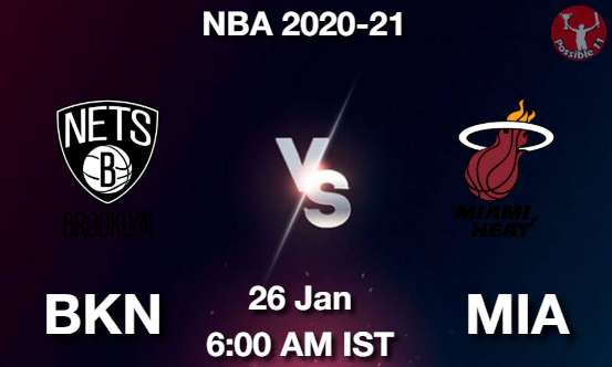 BKN vs MIA NBA Match Previews