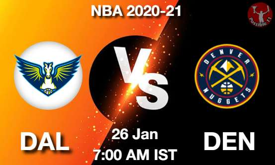 DAL vs DEN Dream11 Prediction