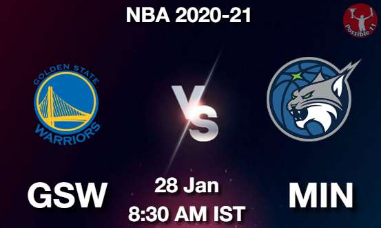 GSW vs MIN Dream11 Prediction