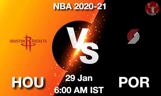 HOU vs POR Dream11 Prediction