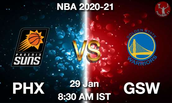 PHX vs GSW Dream11 Prediction