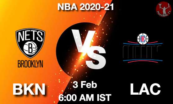 BKN vs LAC Dream11 Prediction