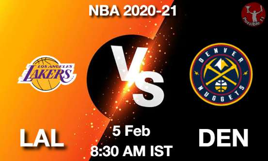 LAL vs DEN Dream11 Prediction