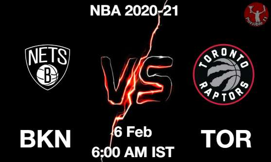 BKN vs TOR Dream11 Prediction