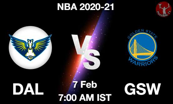 DAL vs GSW Dream11 Prediction