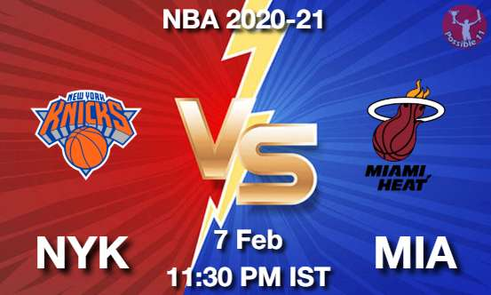 NYK vs MIA Dream11 Prediction