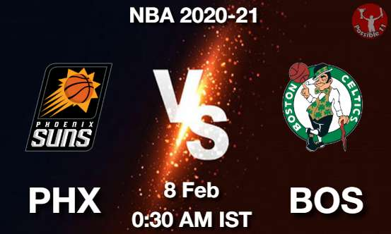 PHX vs BOS Dream11 Prediction