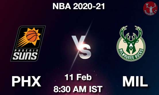 PHX vs MIL Dream11 Prediction