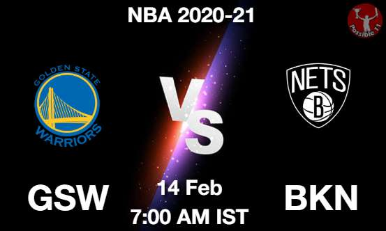 GSW vs BKN Dream11 Prediction