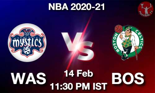 WAS vs BOS NBA Match Previews