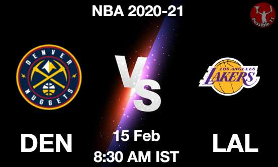 DEN vs LAL Dream11 Prediction