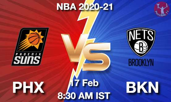 PHX vs BKN Dream11 Prediction